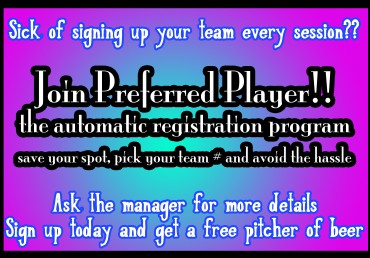 Join Preferred Player!