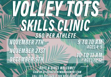 Volley Tots Fall 2020