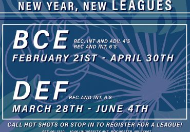 New Year, New Leagues